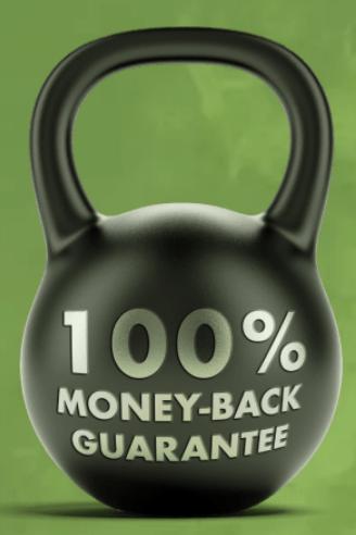 100 Days Money Back Guarantee at Brutal Force
