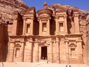 Petra is not far from Ma'an, a city known for its jihadi sympathizers.  The risks of attacks in the kingdom cannot be taken lightly. PC: Eddie Grove