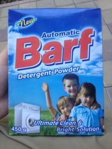 If more Americans visit Iran in the aftermath of the deal, they may be amused by one of their laundry detergent brands.  Washing your clothes with barf makes more sense when you consider that barf means snow in Persian.  PC: Eddie Grove