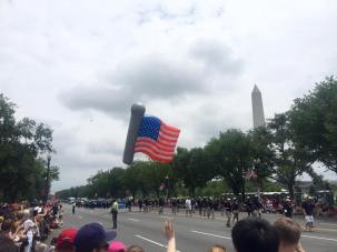 The July 4 Parade in DC.  PC: Eddie Grove