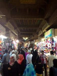The souq in Muscat, Oman.  Oman helped mediate between Iran and the P5+1 and has good trade relations with Iran.  It welcomed the deal.