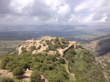 A view towards Syria from Nimrod Fortress, Golan Heights. PC: Eddie Grove