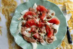 Detoxifying Fennel Grapefruit Salad