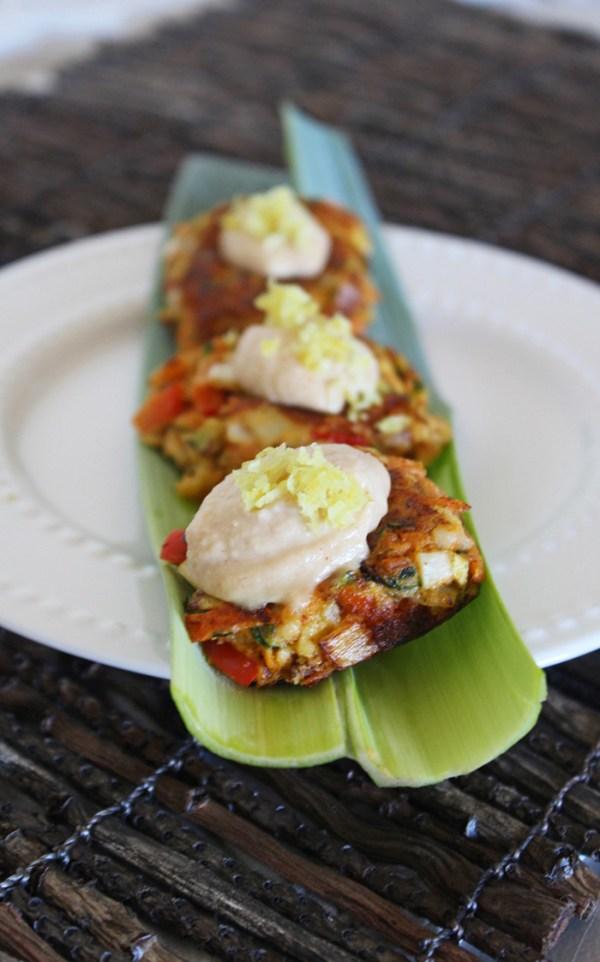 Vegan Appetizer Recipes: Chipotle Veggie Bites | Peaceful ...