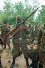 AUC Light Artillery Infantryman