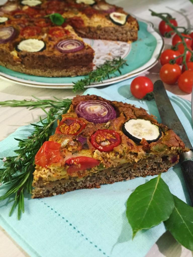 Herzhafte Gemüse-Dinkel-Quiche