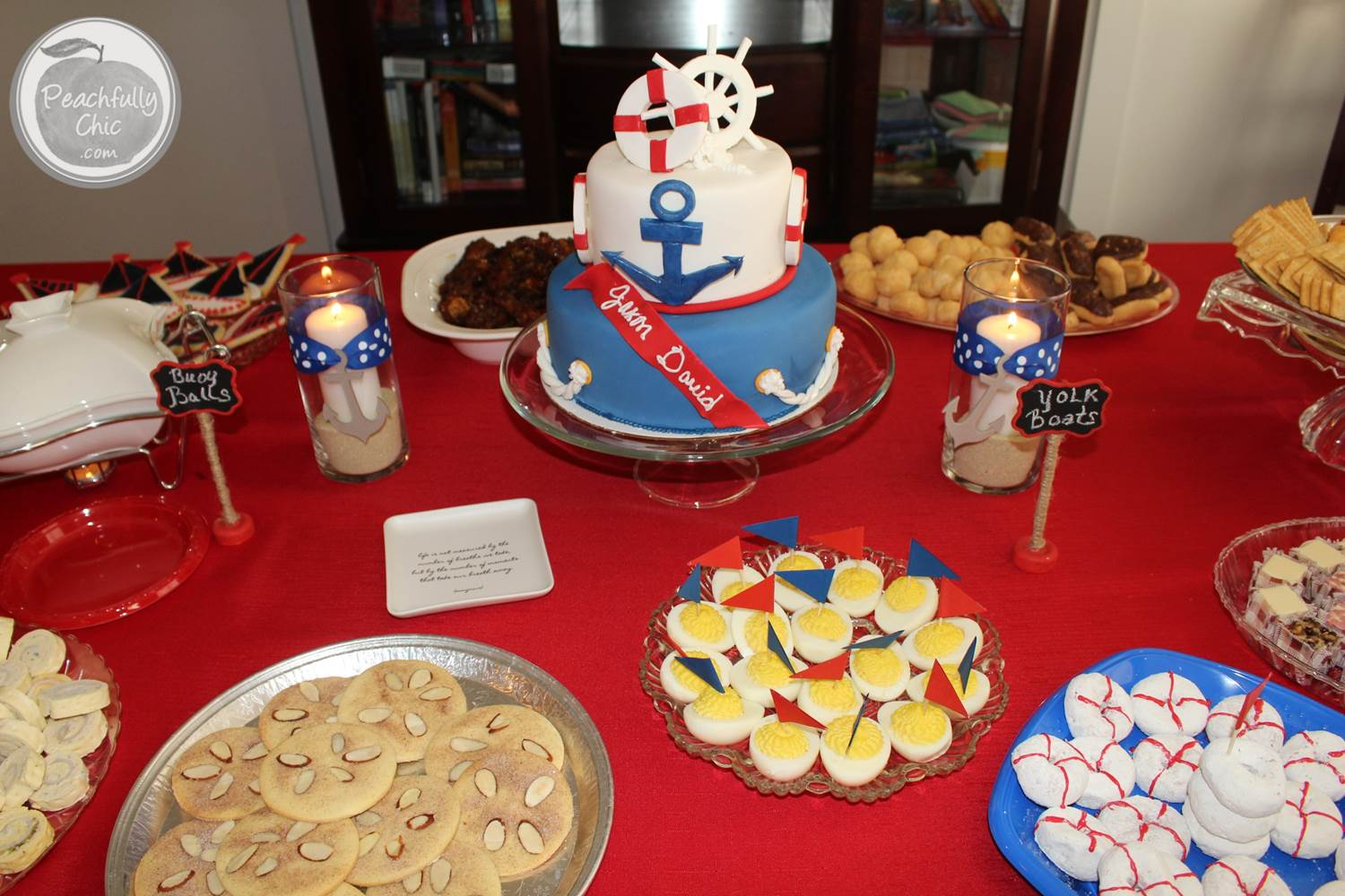 Nautical Baby Shower Decorations Home