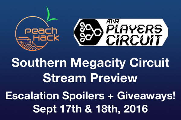 2016 Southern Megacity Circuit Championship Weekend Stream Details – Giveaways and Escalation Previews!