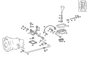 Replacing shifter link bushings  PeachParts MercedesBenz