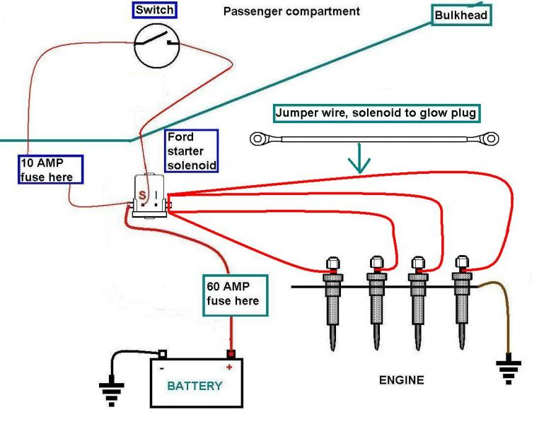 Glow Plug Relay Wiring Schematic Dolgularcom