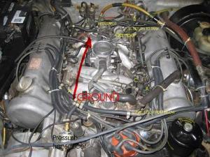 72 DJet Fuel Pump Relay Question  PeachParts MercedesBenz Forum