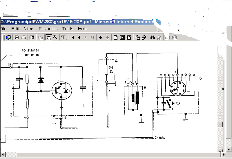 Was at W124 Wiring Diagram
