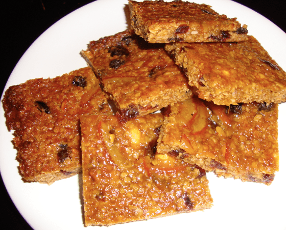 Nutty Fruity Fancy Flapjack