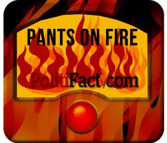 Pants on Fire.