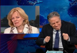 Jon Stewart Slams Peggy Noonan Over Reagan/Obama Scandal Hypocrisy