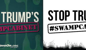 Indivisible rally on January 24 - stop Trump's #SwampCabinet