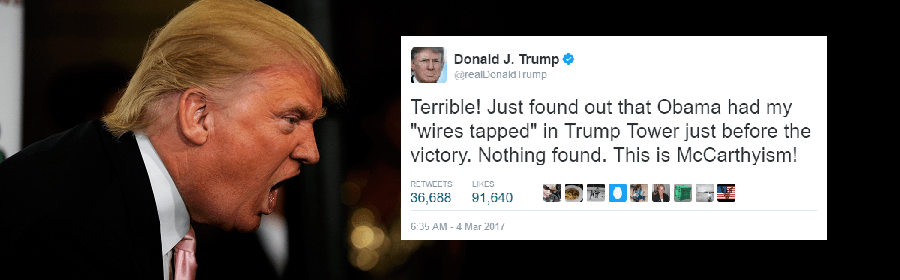 Trump's Wiretapping Meltdown Raises Important Questions