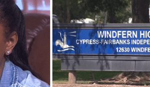 Windfern High School in Houston, Texas expelled 17-year-old India Landry for refusing to stand during the Pledge of Allegiance.
