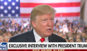 Trump Disrespected the Flag & the Military During Hannity Interview