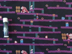 scene from classic Donkey Kong video game