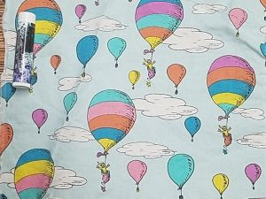 colorful balloons from Places You'll Go book