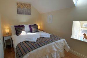 Clock Cottage, Matlock, Double Bedroom