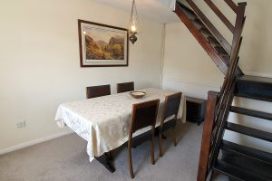 Cornerstones Cottage Tideswell, Dining Room