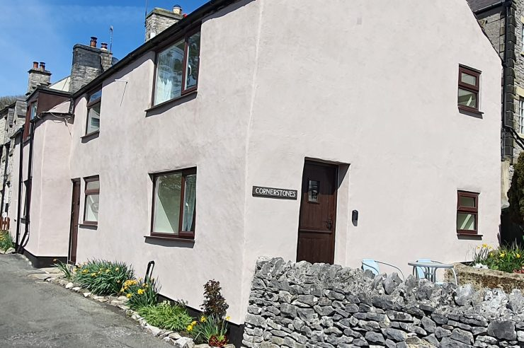 Cornerstones Cottage Tideswell, available from Peak Holidays