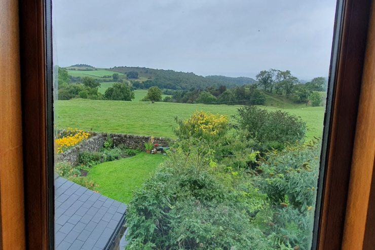 Carpenters Cottage - View from Bathroom