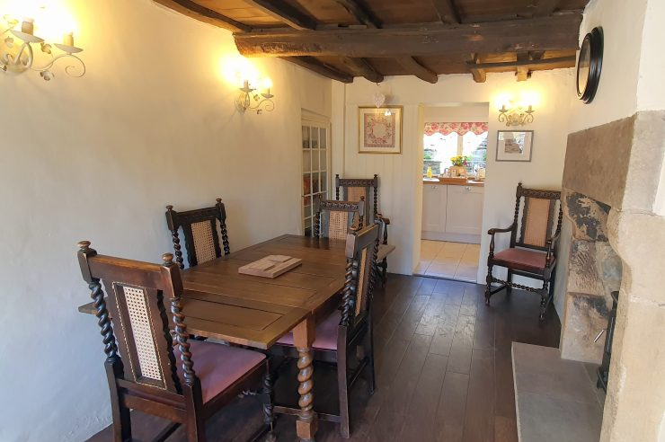 Tudor Cottage, Foolow - Dining Room