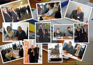 Mosaïque de photos - Workshop PËAK du 17/11/2010