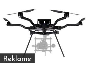 droner med kamera