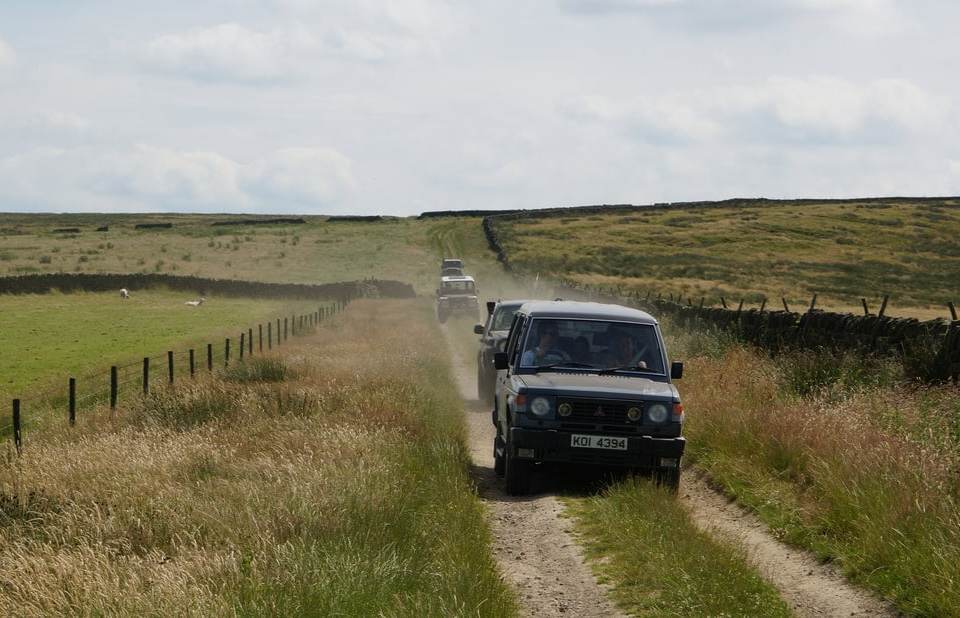 4x4 peak district