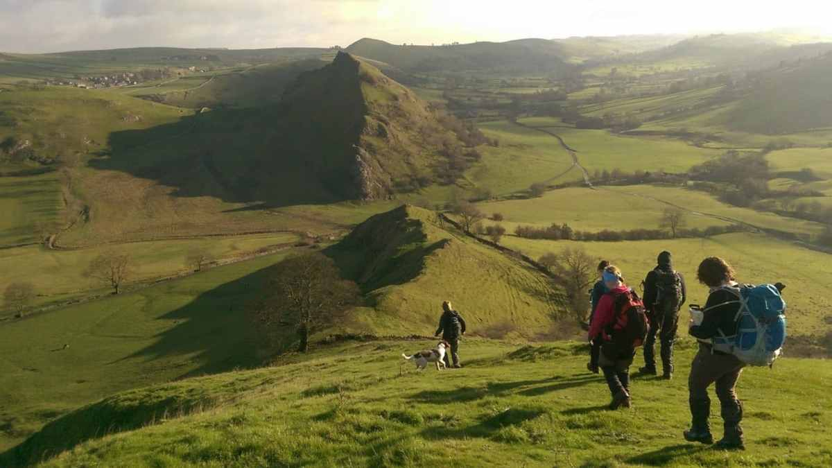 Ranger Walks Paths Peak District