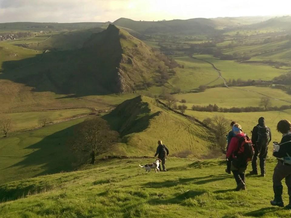 Ranger Walks Paths Peak District