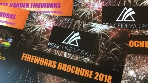Consumer fireworks brochure and price list