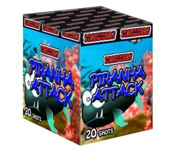 Piranha attack Firework
