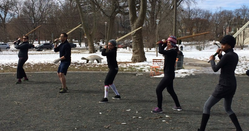 A Game of Thrones-style swordplay class happens Sundays in West Philly
