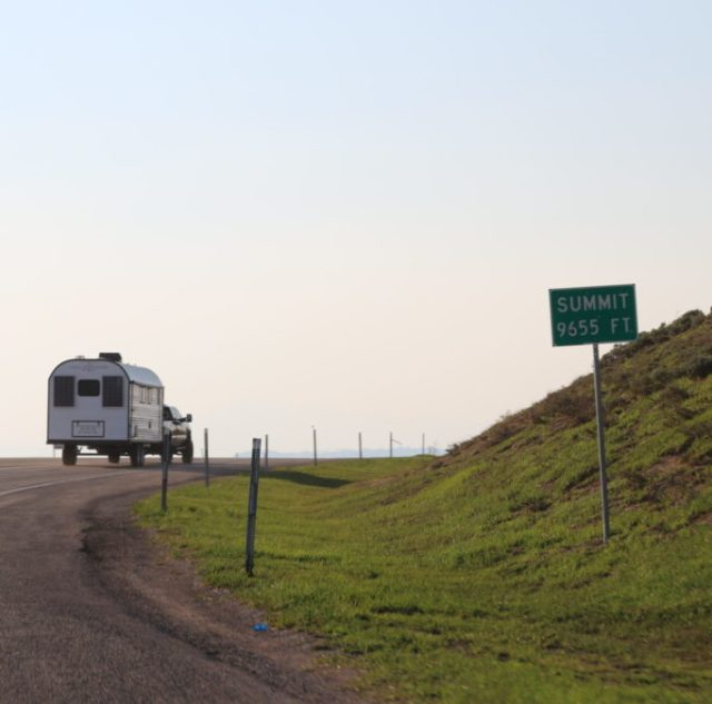 Sheep Camp Leaving