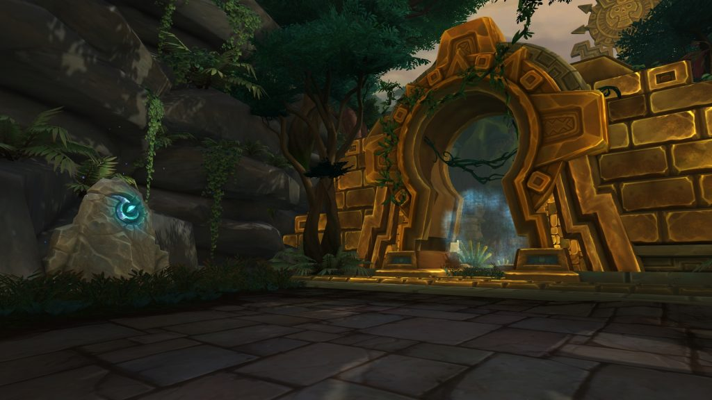The entrance of Atal'Dazar