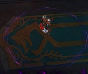 The Heartsbane Triad's Unstable Runic Mark in Waycrest Manor