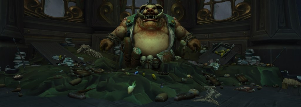 Raal the Gluttonous' boss model in Waycrest Manor