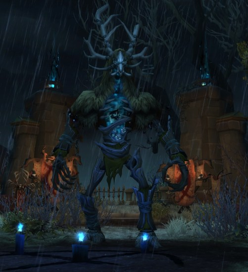 The Soulbound Goliath's boss model in Waycrest Manor