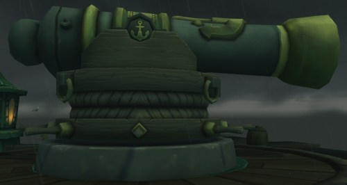 A cannon in Tol Dagor