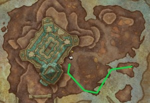 A path to skip the first trash in Tol Dagor