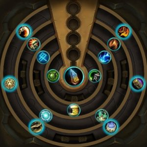A sample piece of azerite gear with extra traits in patch 8.1