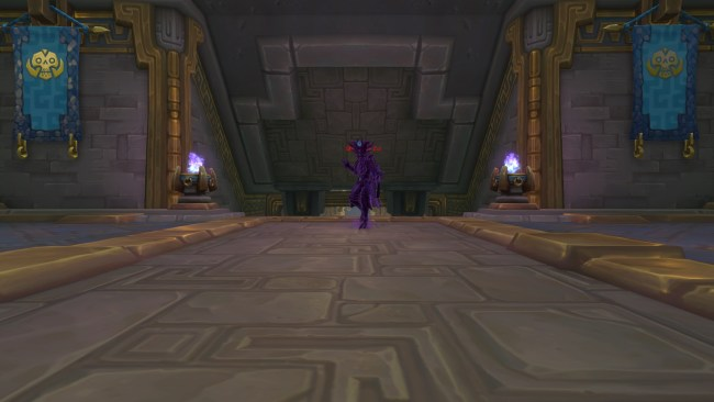 The Shadow of Zul at the end of King's Rest