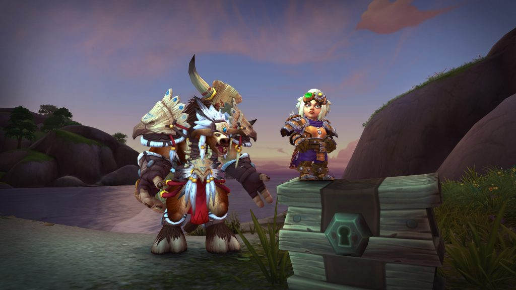 Tauren and Gnome heritage armor coming in patch 8.2, Tides of Vengeance.