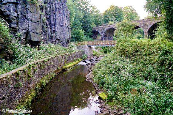 New bridge for New Mills: Torrs Riverside Park re-connected to Sett Valley