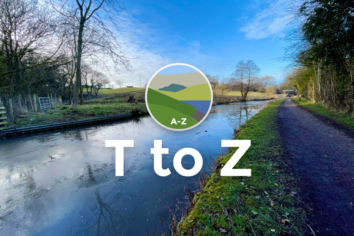 The Peaks & Puddles Cycling A-Z: T to Z
